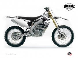 Suzuki 450 RMZ Dirt Bike PREDATOR Graphic kit White LIGHT