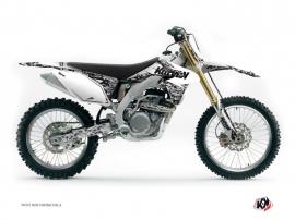 Suzuki 450 RMZ Dirt Bike PREDATOR Graphic kit White