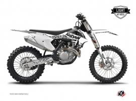Graphic Kit Dirt Bike Predator KTM 450 SXF White LIGHT