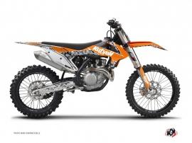 Graphic Kit Dirt Bike Predator KTM 450 SXF Orange