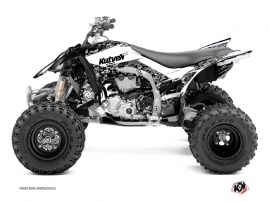 Graphic Kit ATV Predator Yamaha 450 YFZ R White