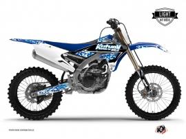 Graphic Kit Dirt Bike Predator Yamaha 450 YZF Blue LIGHT
