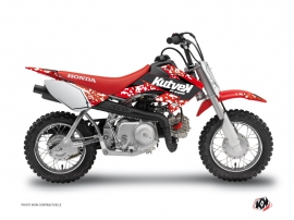 Graphic Kit Dirt Bike Predator Honda 50 CRF Red
