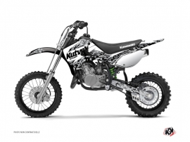 Kawasaki 65 KX Dirt Bike PREDATOR Graphic kit White