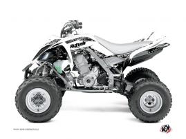 Graphic Kit ATV Predator Yamaha 660 Raptor White
