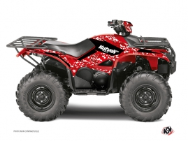 Yamaha 700-708 Kodiak ATV PREDATOR Graphic kit Red
