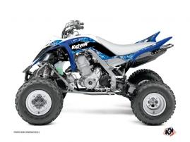 Yamaha 700 Raptor ATV Predator Graphic Kit Blue