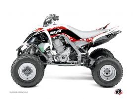 Yamaha 700 Raptor ATV Predator Graphic Kit Red