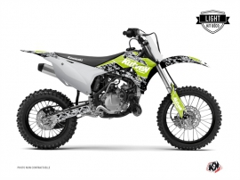 Kawasaki 85 KX Dirt Bike PREDATOR Graphic kit Green LIGHT