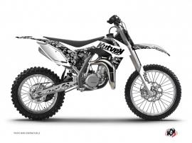 Graphic Kit Dirt Bike Predator KTM 85 SX White