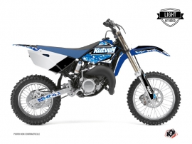 Yamaha 85 YZ Dirt Bike PREDATOR Graphic kit Blue LIGHT