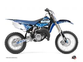 Yamaha 85 YZ Dirt Bike PREDATOR Graphic kit Blue