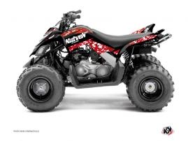 Yamaha 90 Raptor ATV PREDATOR Graphic kit Red