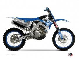 TM MX 125 Dirt Bike PREDATOR Graphic kit Blue