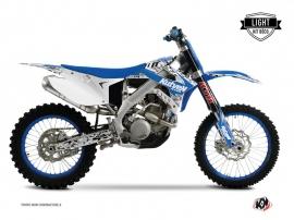 TM MX 125 Dirt Bike PREDATOR Graphic kit Blue LIGHT