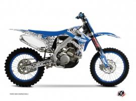 Graphic Kit Dirt Bike Predator TM MX 85 Blue