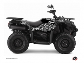 Graphic Kit ATV Predator CF Moto CFORCE 520 S Black