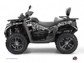 Graphic Kit ATV Predator CF Moto CFORCE 800 S Black