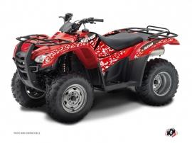 Graphic Kit ATV Predator Honda Rancher 420 Red