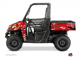 Polaris Ranger 900 UTV PREDATOR Graphic kit Red