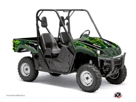 Graphic Kit UTV Predator Yamaha Rhino Black Green