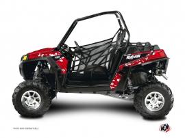 Polaris RZR 570 UTV PREDATOR Graphic kit Red