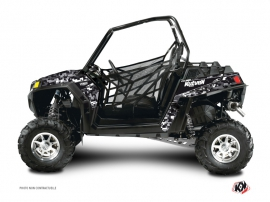 Graphic Kit UTV Predator Polaris RZR 800 Black