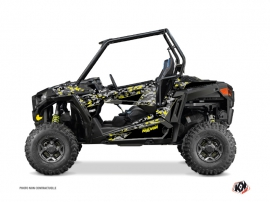 Polaris RZR 900 UTV Predator Graphic Kit Black Grey