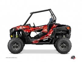 Polaris RZR 900 UTV Predator Graphic Kit Red