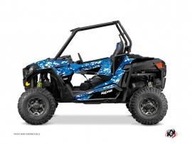 Polaris RZR 900 S UTV Predator Graphic Kit Blue