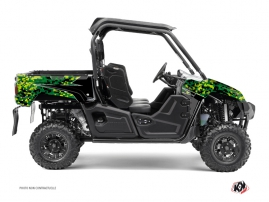 Graphic Kit UTV Predator Yamaha Viking Black Green