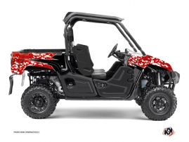 Graphic Kit UTV Predator Yamaha Viking Red