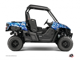 Graphic Kit UTV Predator Yamaha Wolverine R Blue