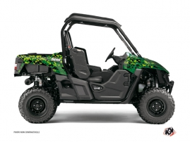 Graphic Kit UTV Predator Yamaha Wolverine R Black Green