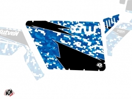 Graphic Kit Doors Standard XRW Predator UTV Polaris RZR 570/800/900 2008-2014 Blue
