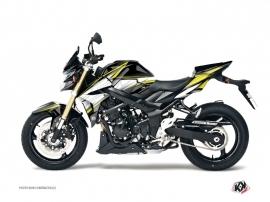 Suzuki GSR 750 Street Bike PROFIL Graphic kit Black Yellow