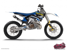 Husqvarna 125 TE Dirt Bike Pulsar Graphic Kit