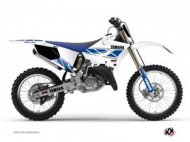 Graphic Kit Dirt Bike Replica Yamaha 125 YZ White Blue