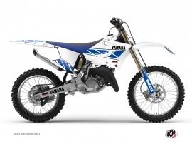Graphic Kit Dirt Bike Replica Yamaha 250 YZ White Blue