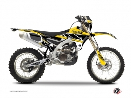 Yamaha 450 WRF Dirt Bike REPLICA Graphic kit Yellow