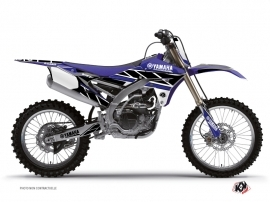 Yamaha 450 YZF Dirt Bike REPLICA Graphic kit Blue