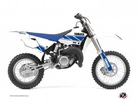 Graphic Kit Dirt Bike Replica Yamaha 85 YZ White Blue