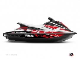 Graphic Kit Jet-Ski Replica Yamaha EX White Red