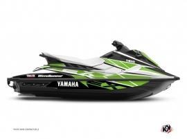 Graphic Kit Jet-Ski Replica Yamaha EX White Green