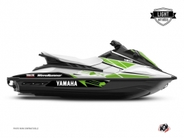 Graphic Kit Jet-Ski Replica Yamaha EX White Green LIGHT