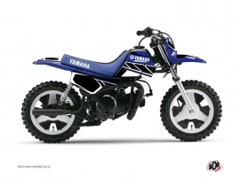 Graphic Kit Dirt Bike Replica Yamaha PW 50 Blue
