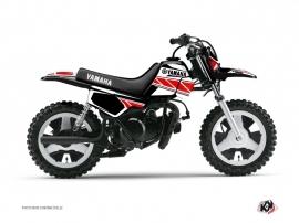 Graphic Kit Dirt Bike Replica Yamaha PW 50 Red