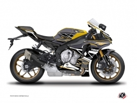 Yamaha R1 Street Bike Replica Graphic Kit Brown
