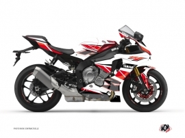 Yamaha R1 Street Bike Replica Graphic Kit Red