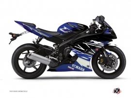 Graphic Kit Street Bike Replica Yamaha R6 Blue